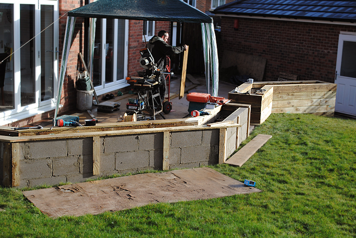 Delicieux Rear Garden Design And Build In Scarcroft, Yorkshire